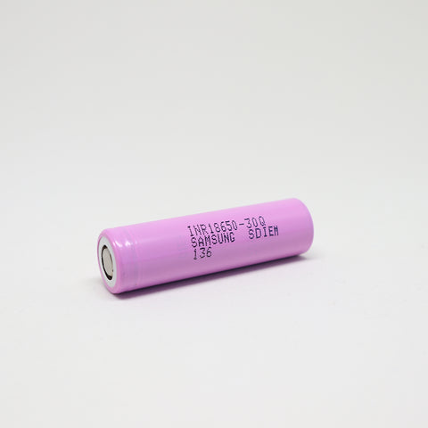 Samsung - 30Q 18650 15A Flat Top 3000mAh Battery