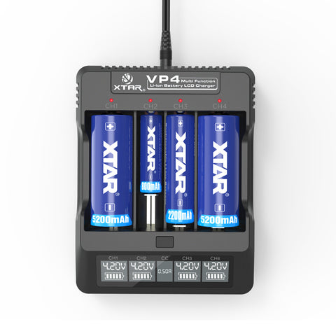 XTAR - VP4 Battery Charger