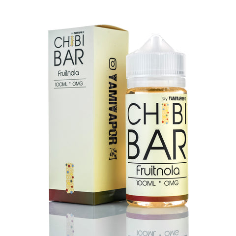 Yami Vapor - Fruitnola Chibi Bar 100ml bottle