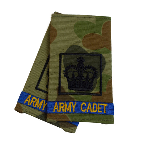 Australian Army Rank Insignia Cadets Cadet Warrant Officer 2 (CDTWO2)