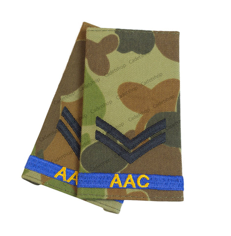 Australian Army Rank Insignia Cadets Corporal (AAC)