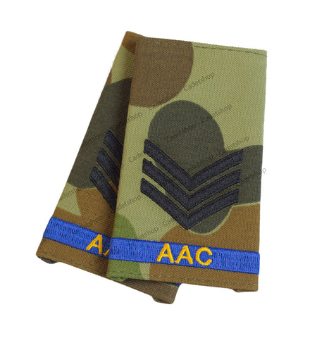 Australian Army Rank Insignia Cadets Sergeant (AAC)