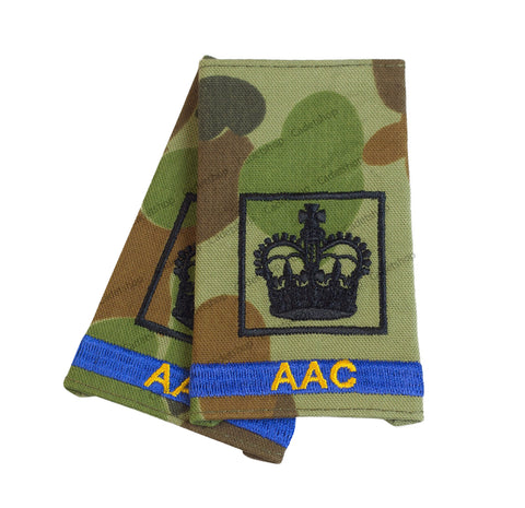 Australian Army Rank Insignia Cadets Warrant Officer 2 (AAC)