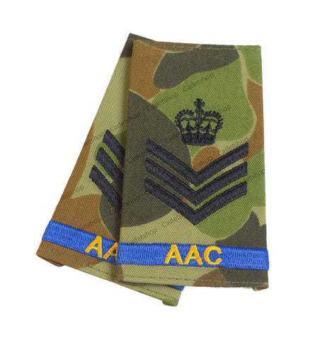 Australian Army Rank Insignia Cadets Staff Sergeant (AAC)
