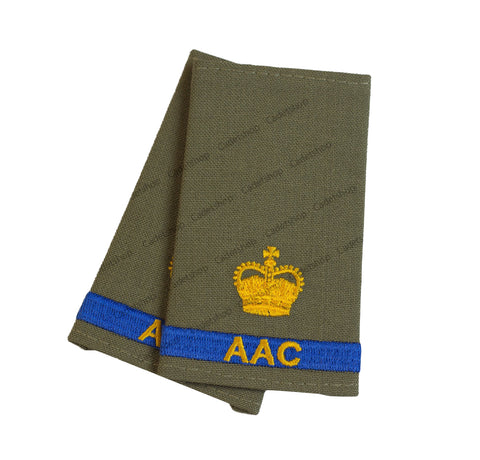 Rank Insignia Australian Army Cadets Major (AAC)
