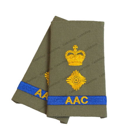 Rank Insignia Australian Army Cadets Lieutenant Colonel (AAC)