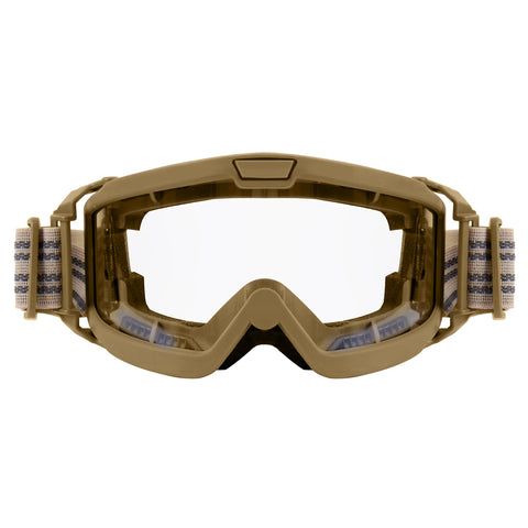 ROTHCO ANSI OTG Goggles Coyote Clear