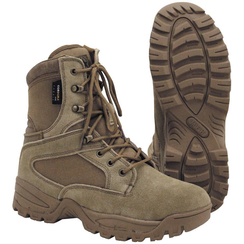 MFH Mission Boots Cordura Lined Coyote Tan