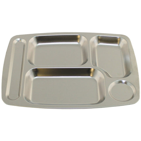 Fox Canteen tray stainless steel 36 x 27 x 2 cm
