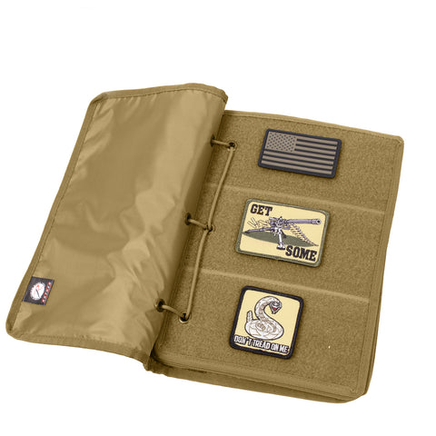 ROTHCO Hook and Loop Morale Patch Book