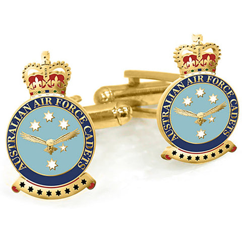 Cuff Links AAFC Australian Air Force Cadets
