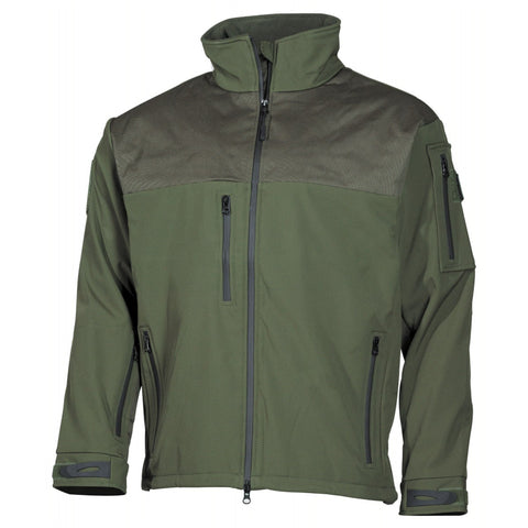 "MFH Soft Shell Jacket ""Australia"" OD Green"