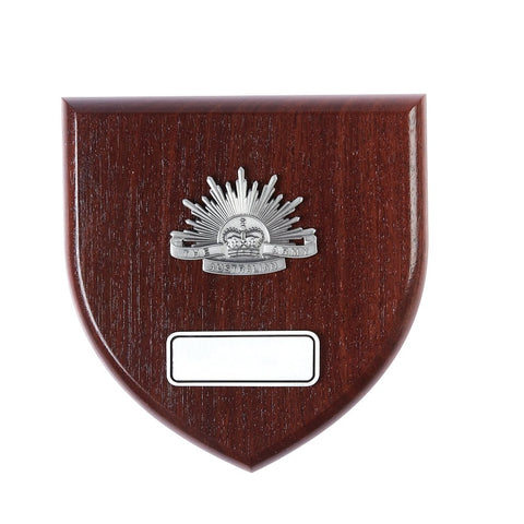 Presentation Plaque Australian Army  Large Pewter