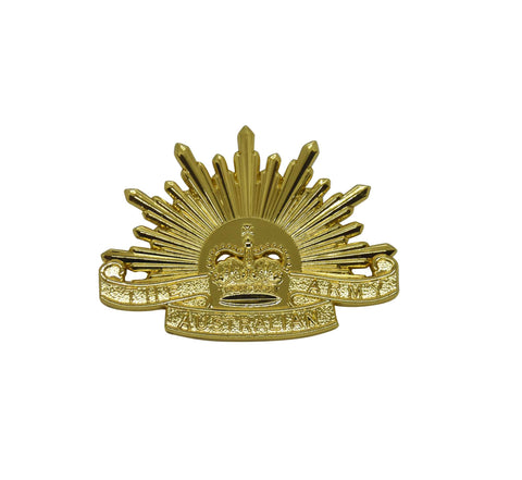 Rising Sun Collar Badge