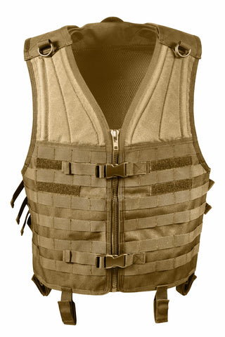 ROTHCO MOLLE Modular Vest Coyote Brown