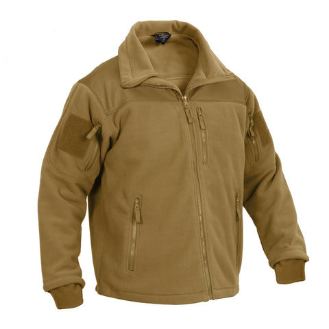 ROTHCO Special ops Tactical Fleece Jacket Coyote Brown