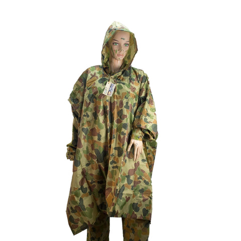 Huss Auscam DPCU Wet Weather Poncho