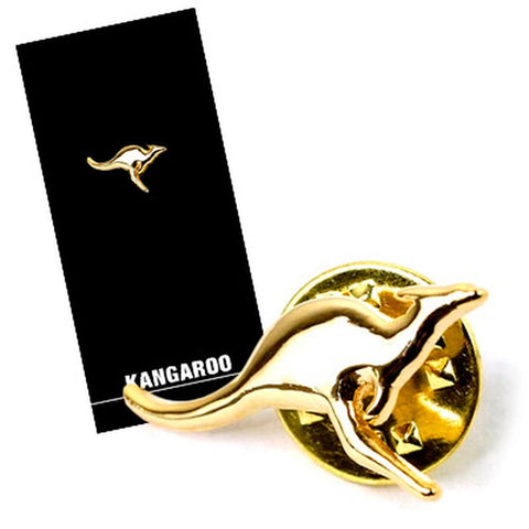 Lapel Pin Gold Plated Kangaroo