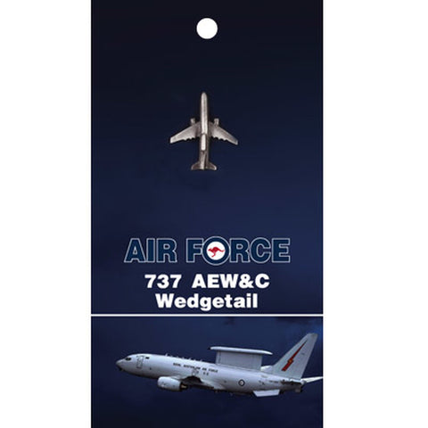 Lapel Pin RAAF Aircraft 737 Wedgetail