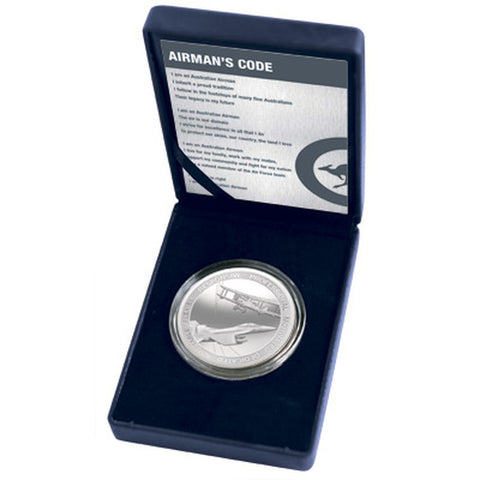 Medallion Airmans Code Royal Australian Air Force in Box