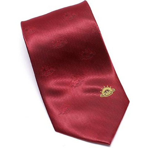 Neck Tie Australian Army Red