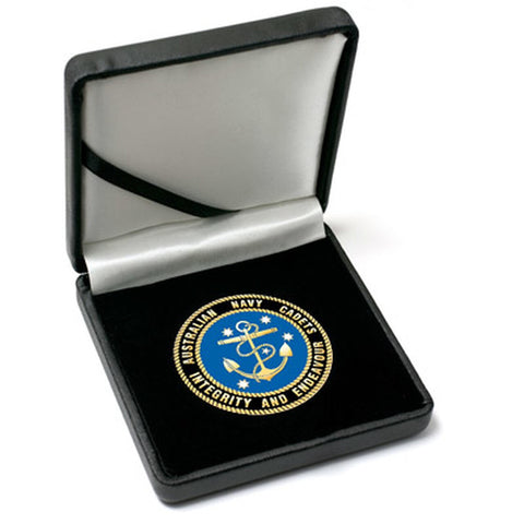 Medallion Australian Navy Cadets ANC 48mm in Case