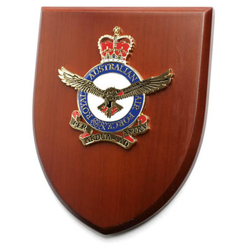 Presentation Plaque Royal Australian Air Force RAAF