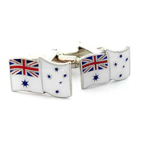 Cuff Links White Ensign Royal Australian Navy RAN