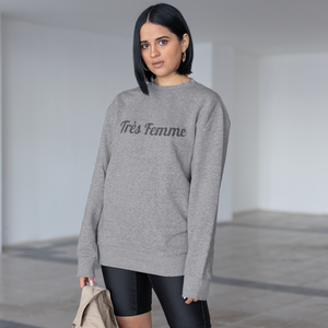Womens Crewneck Everyday Sweatshirt