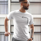 Mens Angle Shaped T-Shirt
