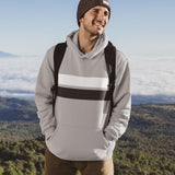 Mens Double Strip Hoodie
