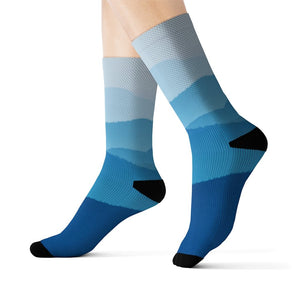 Blue Mountains Fun Novelty Socks