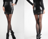 Womens Faux Leather Skirt (2 Pack)