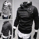 Mens Hooded w Inner Fur Pullover