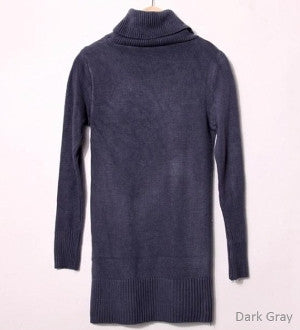 Womens Turtle Neck Sweater (+ colors)