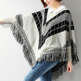 Womens Poncho Sweater