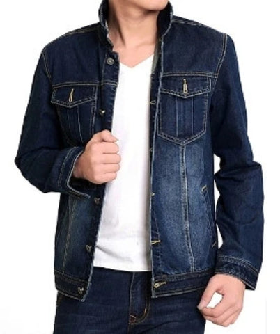 Mens Denim Jean Jacket - AmtifyDirect