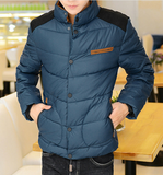 Mens Puffer Jacket with Front Pocket