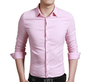 Men's Slim Fit Button Down Shirt