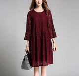 Womens Casual Lace Dress
