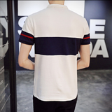 Mens Colorblock Polo Shirt - AmtifyDirect