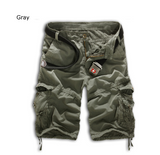 Mens Long Cargo Shorts