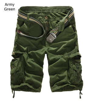 Mens Army Cargo Shorts - AmtifyDirect