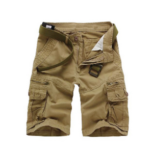 Mens Classic Cotton Cargo Shorts - AmtifyDirect