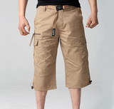 Mens Belted Cargo Shorts - AmtifyDirect