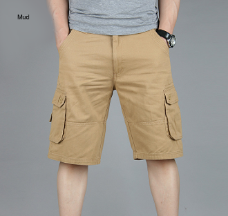 Mens Rugby Cargo Shorts