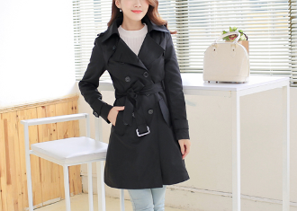 Womens Street Style Trench Coat