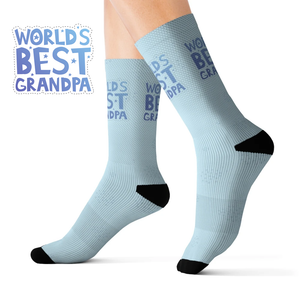 World's Best Grandpa Novelty Socks