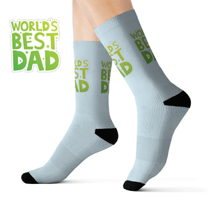 World's Best Dad Novelty Socks