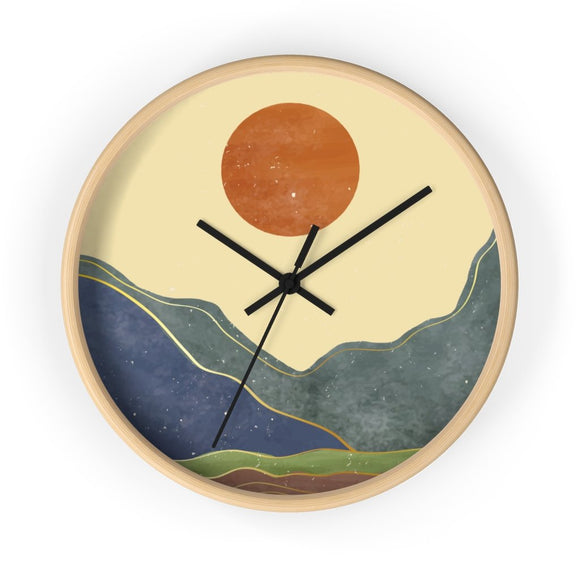 California Sun Wall clock